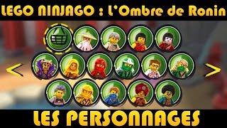 getlinkyoutube.com-LEGO Ninjago : Les Personnages / Characters