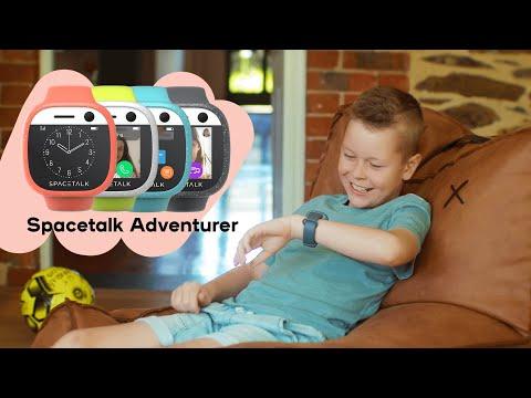 Spacetalk Adventurer Kids Smart Watch 4G - Coral