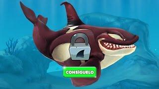 getlinkyoutube.com-Hungry Shark World Desbloqueando a la Ballena Asesina