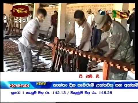 LTTE No Longer A Threat; TMVP Dissolves It's Military Wing 2009 Mar 07