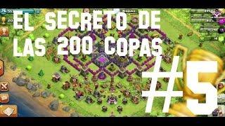 getlinkyoutube.com-Secreto 200 copas | Anzlet | Clash of Clans | #5