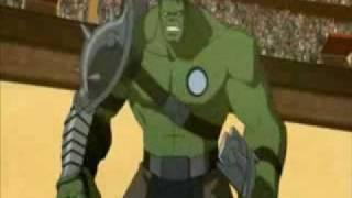 getlinkyoutube.com-Planet Hulk: Hulk --vs-- Beta Ray Arena Battle Clip 2010