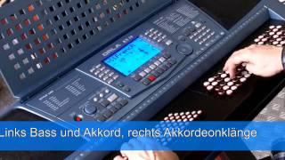 getlinkyoutube.com-ORLA KX10 C - Chromatik Keyboard für Akkordeonisten !