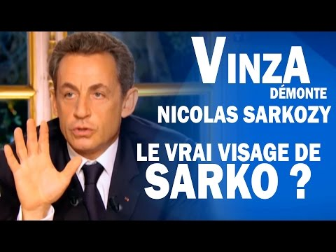 Humour : VinzA dmonte Sarko  |  Le vrai visage de Nicolas Sarkozy 2012