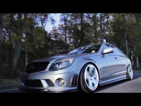 Mercedes C63 AMG пневмо подвеска,что за звук!