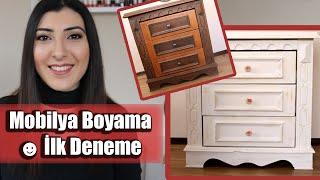 Mobilya Boyama || İlk Deneme
