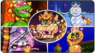 getlinkyoutube.com-Paper Mario Sticker Star - All Bosses