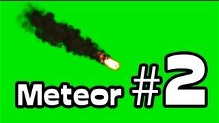 getlinkyoutube.com-Meteor Animated #2 - Green Screen (1080p)