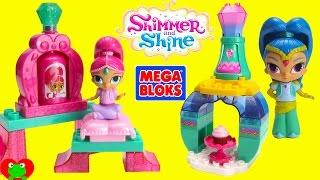 getlinkyoutube.com-Shimmer and Shine Mega Bloks and Surprises