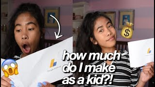 My First Youtube Paycheck + How To Make Money On Youtube 2018