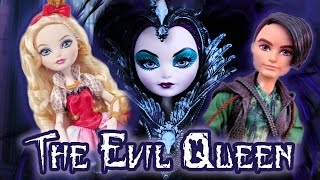 getlinkyoutube.com-Ever After High : The Evil Queen Strikes : Stop Motion