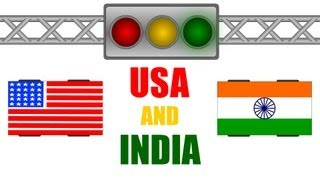 USA and India Traffic Rules