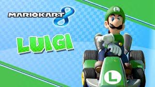 getlinkyoutube.com-ماريو كارت : لويجي - فيس كام | Mario Kart 8 : LUIGI