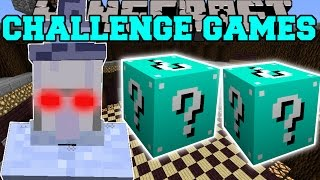 Minecraft: ICE WITCH CHALLENGE GAMES - Lucky Block Mod - Modded Mini-Game