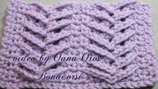 getlinkyoutube.com-crochet 3D or herringbone stitch