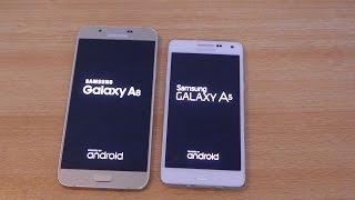 getlinkyoutube.com-Samsung Galaxy A8 vs Galaxy A5 - Speed Test HD