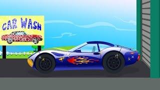 getlinkyoutube.com-Sports Car | Car Wash