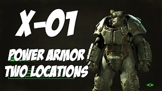 Fallout 4 - X-01 Power Armor (Two Locations)