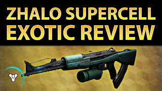 getlinkyoutube.com-Destiny Taken King: Zhalo Supercell Exotic Review