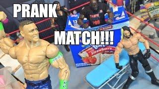 getlinkyoutube.com-GTS WRESTLING: PRANK WAR! WWE Mattel Figure Matches Animation PPV
