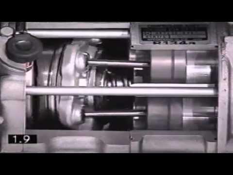 Расположение компрессора кондиционера в Scion хА