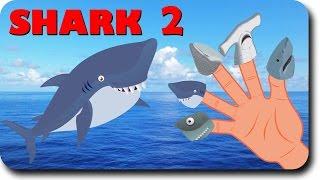 getlinkyoutube.com-Finger Family Shark Family Nursery Rhyme | Animal Finger Family | Fish Finger Family for children
