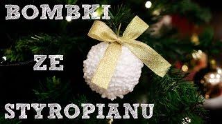 getlinkyoutube.com-Bombki ze styropianu | Doriska