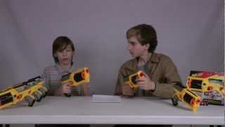 getlinkyoutube.com-Nerf Maverick REV-6 Review - Nerf Socom Reviews