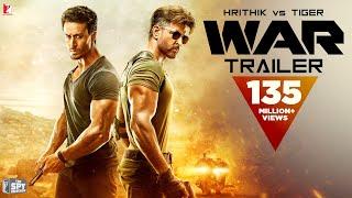 War Trailer - Hrithik Roshan - Tiger Shroff - Vaani Kapoor