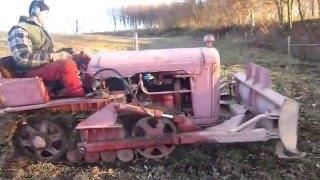 getlinkyoutube.com-Raupe: Bolgar TL 30 A, Holzeinsatz