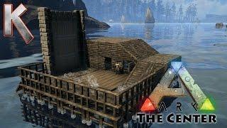 getlinkyoutube.com-Epic BoatHouse Build! - Pooptopia - Season2 E4 - Ark Survival Evolved