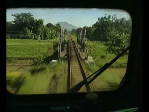 Riding the rails in Indonesia with Geoff Mackley