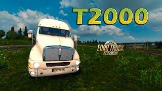 getlinkyoutube.com-Kenworth T2000  Euro truck Simulator 2