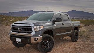 getlinkyoutube.com-2014 Toyota Tundra Crewmax 4x4 Lift Review