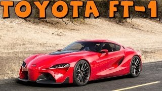 getlinkyoutube.com-Gran Turismo 6 | Toyota FT-1 | Test Drive, Review and Hoonage!