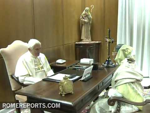 Pope receives Sheikh Hasina  prime minister of Bangladesh