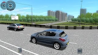 getlinkyoutube.com-City Car Driving 1.3.3 Peugeot 308 GTi [1080p]