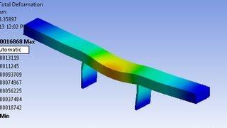 getlinkyoutube.com-ANSYS: Transient analysis of Bridge