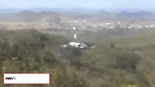 getlinkyoutube.com-UFO Lands Near Cyclists In Brazil 2013