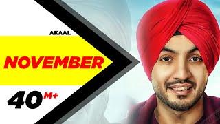 November (Full Song) | Akaal | Parmish Verma | Bittu Cheema | Latest Punjabi Song 2016