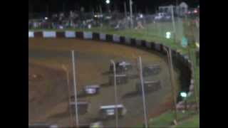 getlinkyoutube.com-Dixie Speedway 6-29-13 Super Late Models Gone Wild