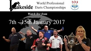 getlinkyoutube.com-Lakeside World Darts Championship 2017  - Saturday January 14 Session 1
