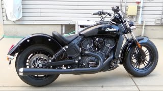 getlinkyoutube.com-Project 2016 Indian Scout Sixty Part 3 (Bassani 2 into 1, Trask Intake, Power Commander 5 Install)