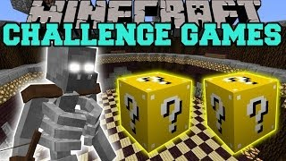 getlinkyoutube.com-Minecraft: MUTANT SKELETON CHALLENGE GAMES - LUCKY BLOCK MOD - Modded Mini-Game