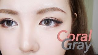 getlinkyoutube.com-[ENG] 이국적인 코랄그레이 메이크업! - Coral Gray Makeup | 다또아