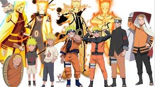 getlinkyoutube.com-Naruto characters: Uzumaki Naruto's Evolution