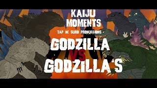 getlinkyoutube.com-Godzilla vs Godzilla´s KAIJU MOMENTS # 06