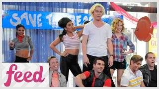 getlinkyoutube.com-Teen Beach 2 Cast Rock Out on GMA!