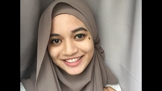 getlinkyoutube.com-4 Styles of Shawl Tutorial by Aifa Haziqah
