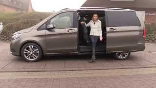 getlinkyoutube.com-2015 Mercedes V-Class first test drive review - Autogefühl Mercedes V-Klasse